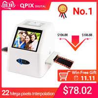 22 MP 110 135 126KPK Super 8 négatif Photo Scanner 35mm diapositive Film Scanner numérique Film convertisseur 2.4 LCD
