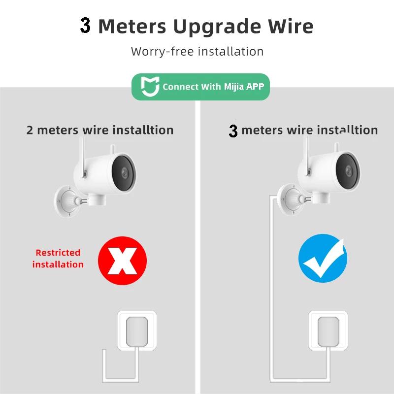 Xiaomi N1 Smart Outdoor Camera Waterdichte Ptz Webcam 270 Hoek 1080P Dual Antenna Signal indoor Wifi Ip Cam Nachtzicht  Mi Home