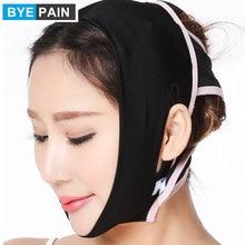 BYEPAIN Face Slimming Chin Cheek Belt Lift Up Anti-Wrinkle Mask Ultra-thin V Face Line Belt Strap Band