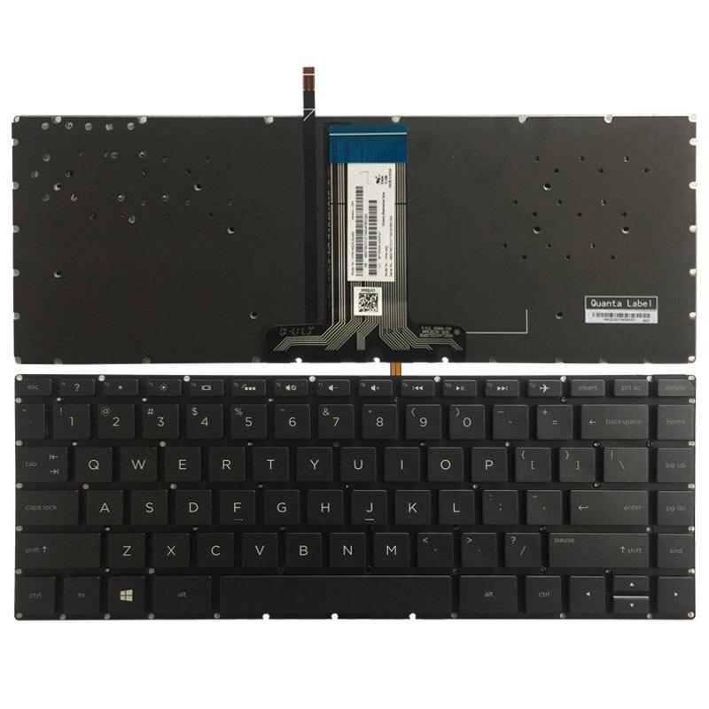 NEW FOR HP 15-ab201nd 15-ab202nd 15-ab211nd 15-ab215nd keyboard US Backlit Black