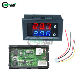 DC 100V 10A Digital Voltmeter Ammeter Dual LED Display DC Amp Volt Meter Voltage Current Tester Volt Detector Voltmeter Module multimeter ammeter voltmeter wattmeter ac 80 260v 0 100a lcd digital display current voltage power energy meter