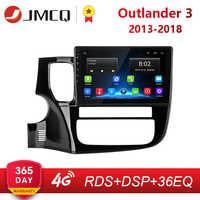 Para Mitsubishi Outlander 3 GF0W GG0W 2012-2018 2G + 32G Android 8,1 4G HiFi para coche Radio Multimedia reproductor de Video GPS de navegación 2 Din