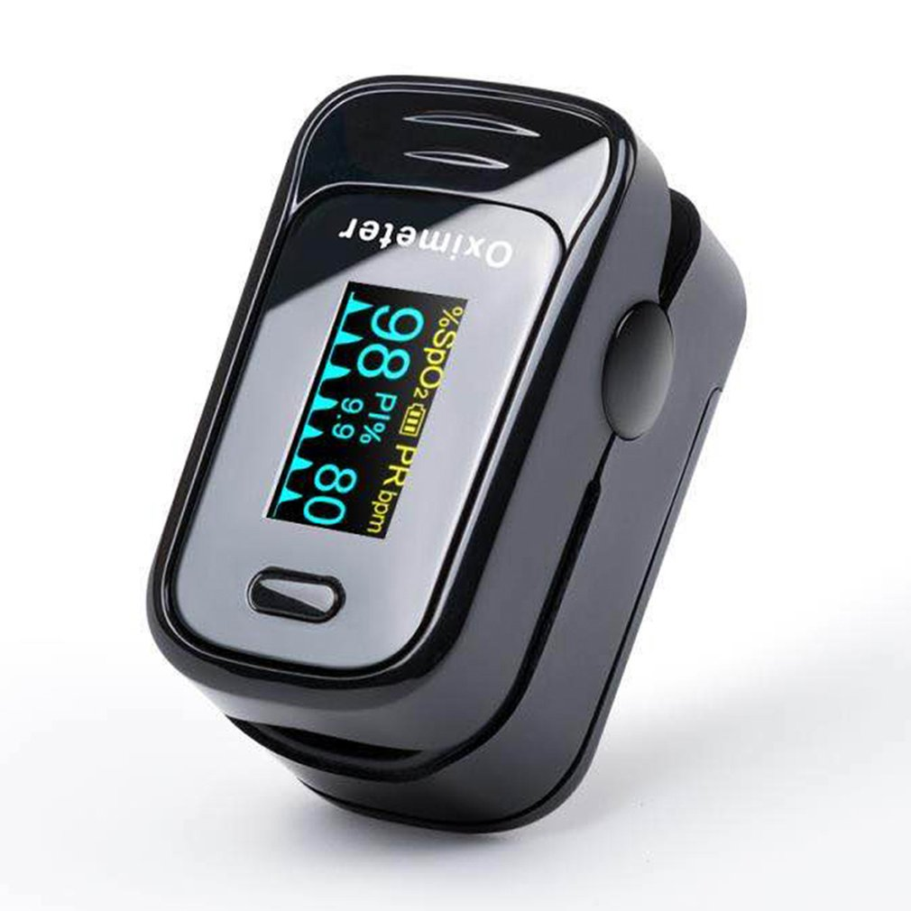 Finger Clip Oximeter Pure Silicone Gel Heartbeat Pulse Oximetry Heart Rate Monitoring Measuring Blood Oxygen Content 1 Pcs