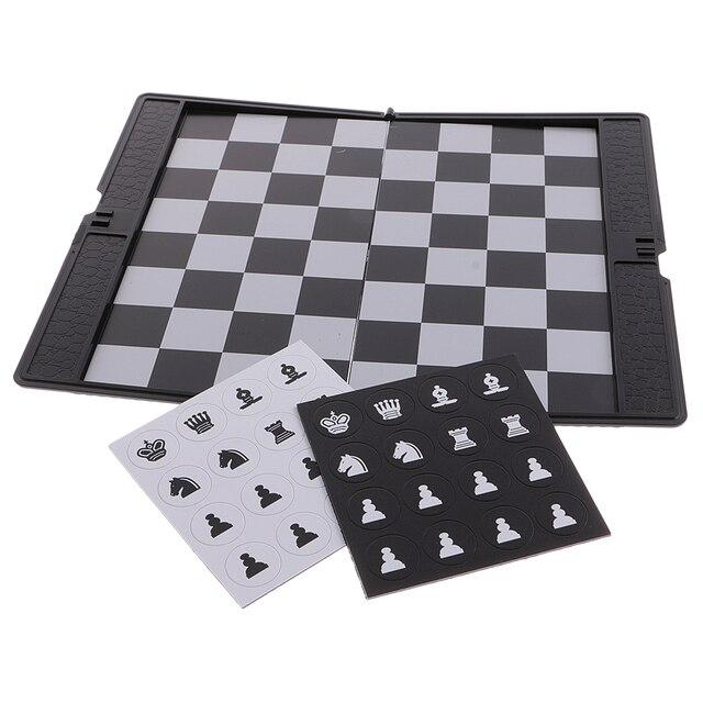 Mini portefeuille d'échecs de voyage magnétique mis bon cadeau de conception pour le voyage Durable 3