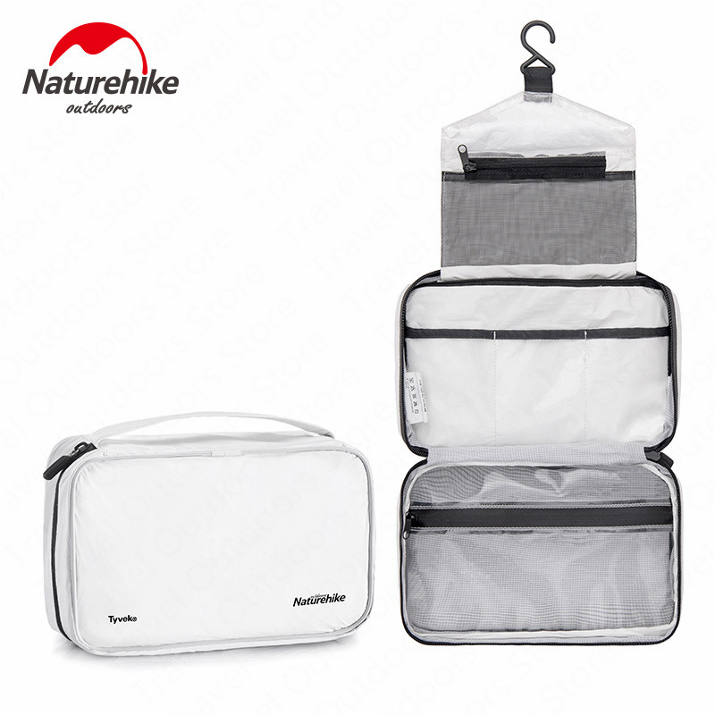 Naturehike Waterproof Bag Travel Cosmetic Bag  Business Large Capacity Clothing Bag TPU Multi-function Portable Storage Bath Bag