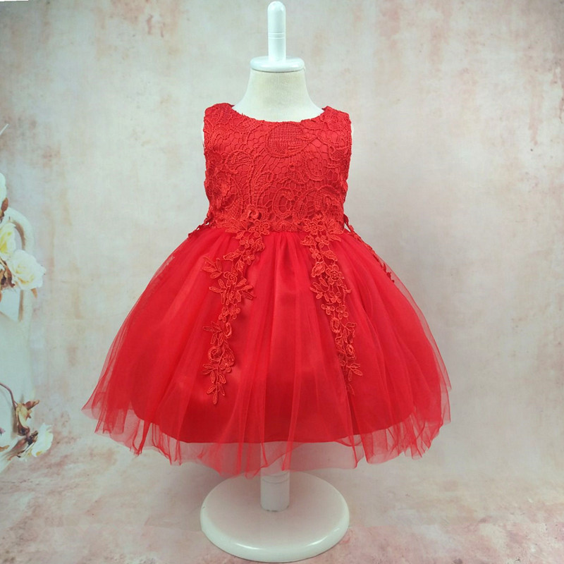 Europe And America Princess Mesh Skirt Upper Body Lace Bow CHILDREN'S Full Dress GIRL'S Dress