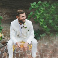 Beige Linen Men Suits Wedding Suits For Men Groom Tuxedo 2 Piece Casual Summer Beach Prom Party Wear Suits Costume Homme