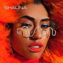 Женские оправы для очков с кристаллами shauna популярная оправа