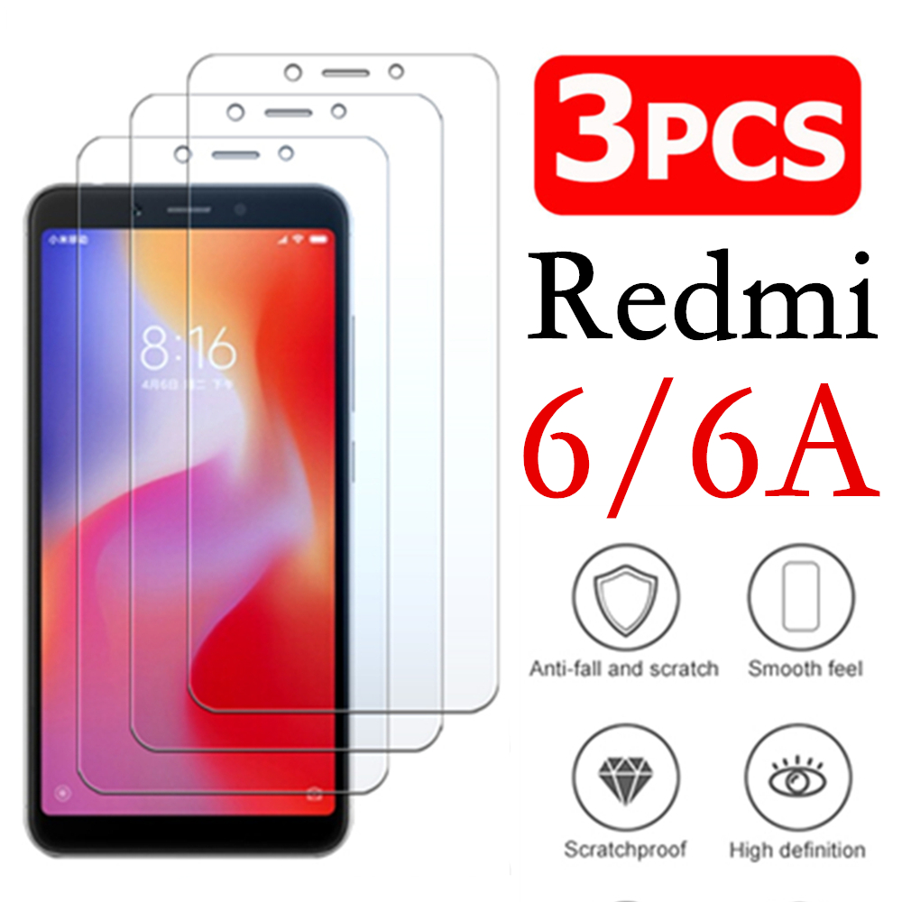 Resmi 6a Armored Protective Glass On For Xiaomi Redmi 6 A Tempered Glas Ksiomi Redmi6 Redmi6a 6a A6 Screen Protector Tremp Film