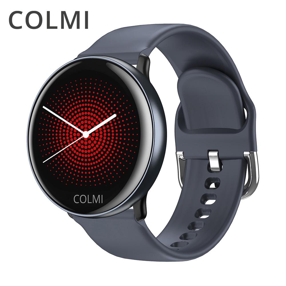 COLMI SKY2 Smart Watch IP68 Waterproof Fitness Activity Tracker Heart Rate Monitor Bluetooth Brim Sport Men Women Smart Clock