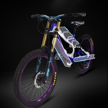 MTB Frame Protection Cycling Bike Stickers Decals Bicycle Ra