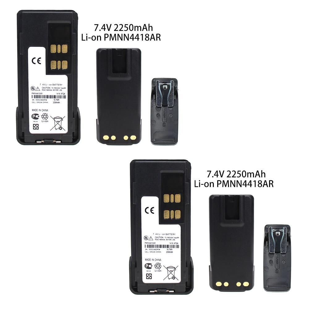 2X Replacement Battery Compatible With Motorola DP2400 DP-2400 DP2600 DP-2600 XIR P6600 PN PMNN441 PMNN4415 PMNN4416