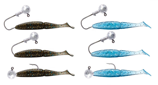 5pcs/lot Head Jig 1g/2g/5g/7g/14g/20g Round Tungsten Jig Heads Carbon Fishing Hooks Jig Fishing for Bass Crappie 6