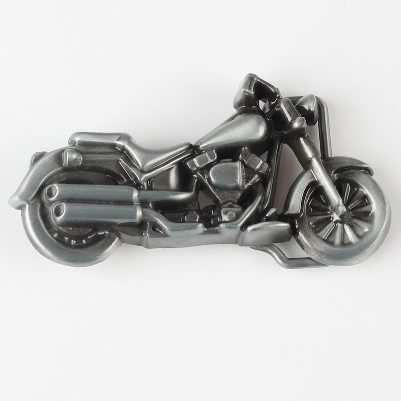 Motorcycle Locomotive Belt Buckle Handmade Homemade Belt Accessories Waistband DIY Western Cowboy Heavy Metal Rock Punk K50