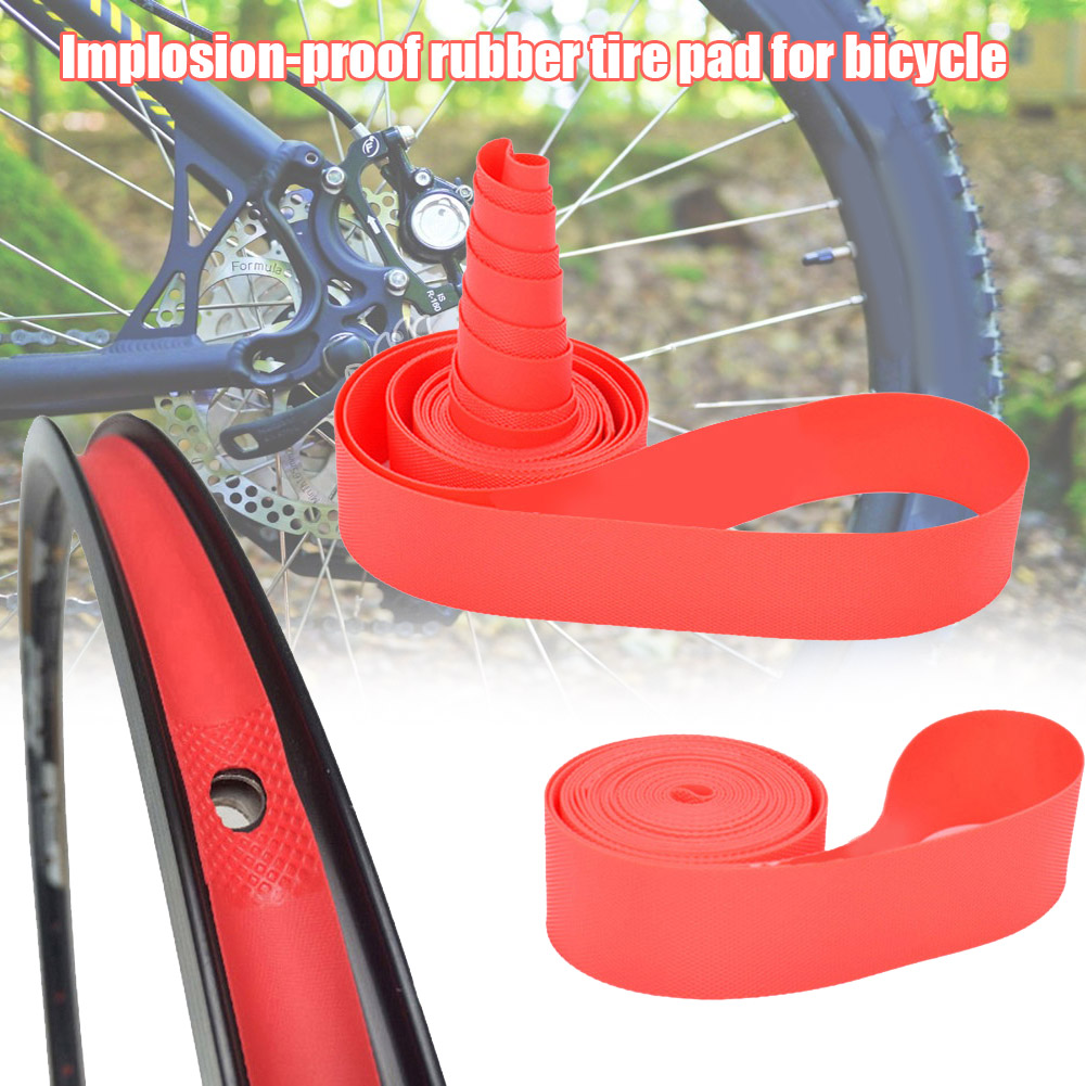 2 Pcs Bicycle Inner Tubes Explosion-proof Lining Tire Pad New