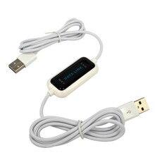 USB PC Naar PC Online Delen Sync Link Netto Direct Data File Transfer Bridge LED Kabel Gemakkelijk Kopiëren Tussen 2 computer