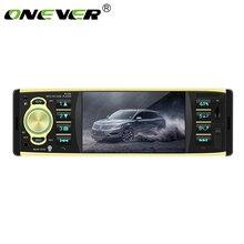 """4.1 """"jogador mp4 ape mp3 do carro mp5 de tft hd digital bluetooth player com controle remoto do volante do apoio do rádio de usb/sd fm"""