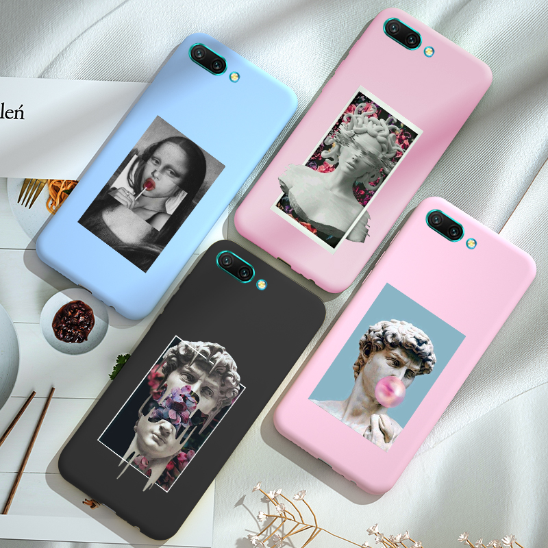 For Huawei <font><b>Honor</b></font> 20 <font><b>20i</b></font> Lite 20S View 20 <font><b>Case</b></font> Candy Color Cover PC+TPU <font><b>Honor</b></font> 10 10i Lite <font><b>Case</b></font> image