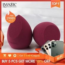 Imagicメイクスポンジプロの化粧用パフファンデーションコンシーラークリームメイクアップはアップ軟水スポンジパフ卸売