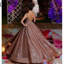 Nowoczesne w róże złota afrykańska odblaskowe sukienki Quinceanera z paskiem wysadzanym kryształkami Backless cekinowe suknie na bal maturalny świecący sukienka na formalną imprezę
