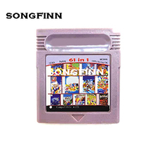 2 Colors 61 in 1 MC006 100% Saving OK Memory card for 16 bit color console English language