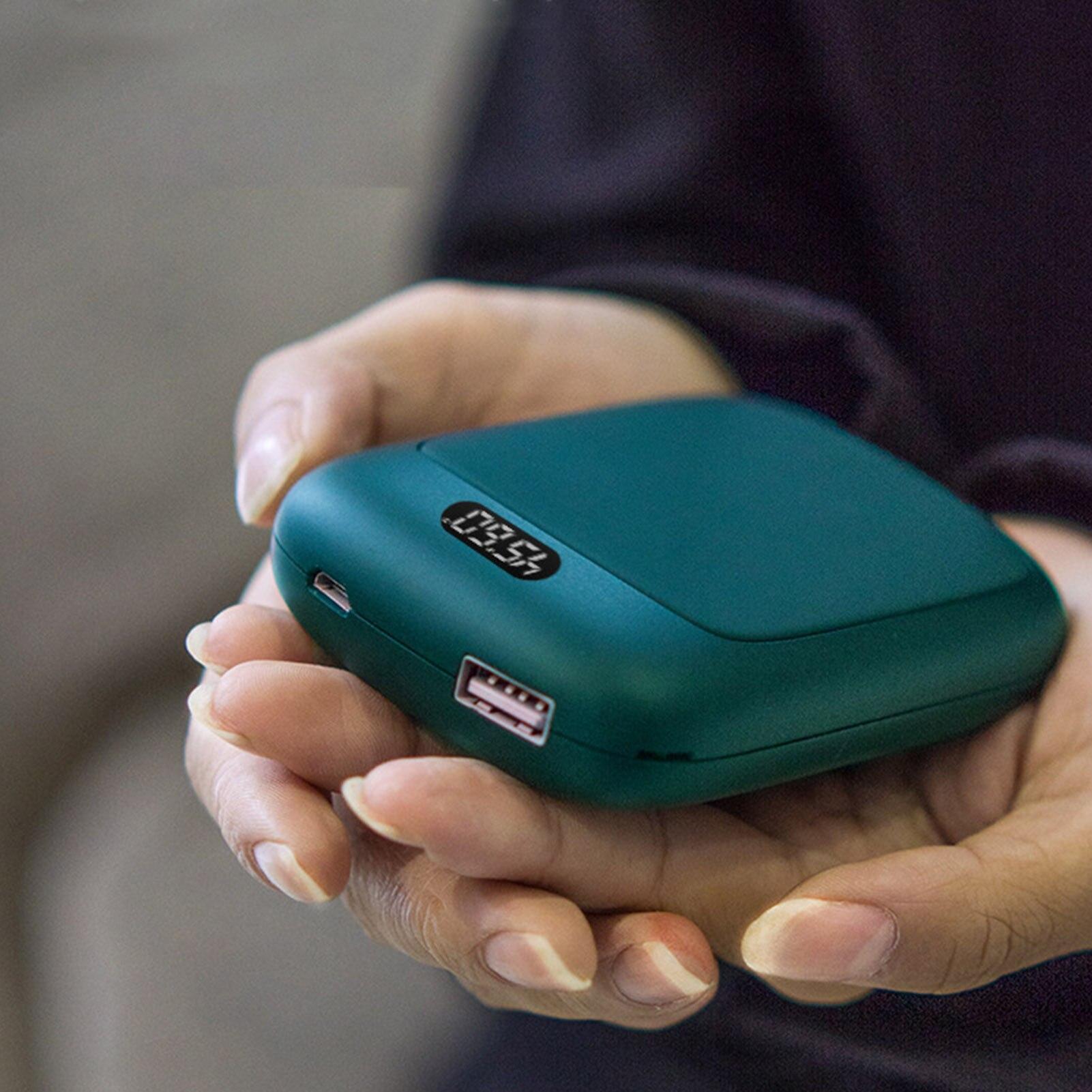 Портативный USB обогреватель Перезаряжаемые электрическая грелка для рук в зимний двусторонний Отопление мини мобильный Питание для согрев...