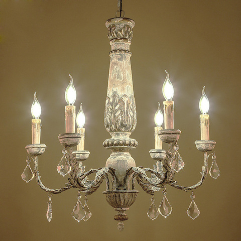 ferro de madeira iluminacao lustre cristal do