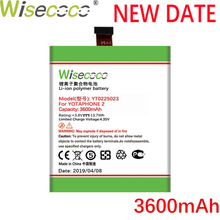 Wisecoco YT0225023 3600mAh New Production Battery For Yotaphone 2 YD201 YD206 High Quality battery replace+Tracking Number