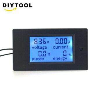 DC 100V/100A LCD Display Digital Current Voltage Power Energy Meter Multimeter Ammeter Voltmeter dc lcd meter 100v 100a digital voltage current meter ammeter voltmeter l2ko