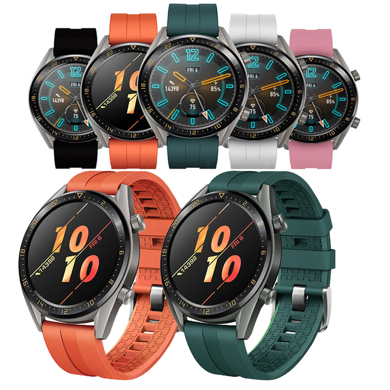 22mm <font><b>watch</b></font> band for Huawei <font><b>Watch</b></font> GT 2 42mm <font><b>46mm</b></font> Strap <font><b>samsung</b></font> galaxy <font><b>watch</b></font> <font><b>46mm</b></font> gear S3 Frontier amazfit gts strap <font><b>bracelet</b></font> image
