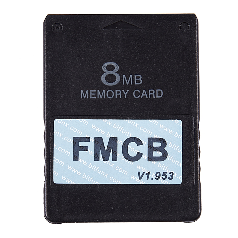 FMCB Free McBoot Card V1.953 For Sony PS2 Playstation2 Memory Card OPL MC Boot