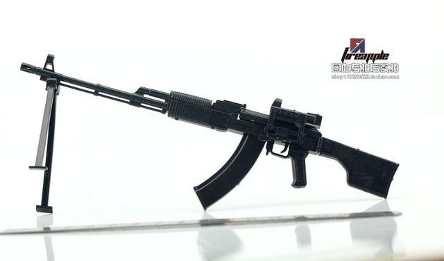 1:6 PPK-74 Soldier 2014D Assembly Model RPK74M Automatic Rifle Model 2