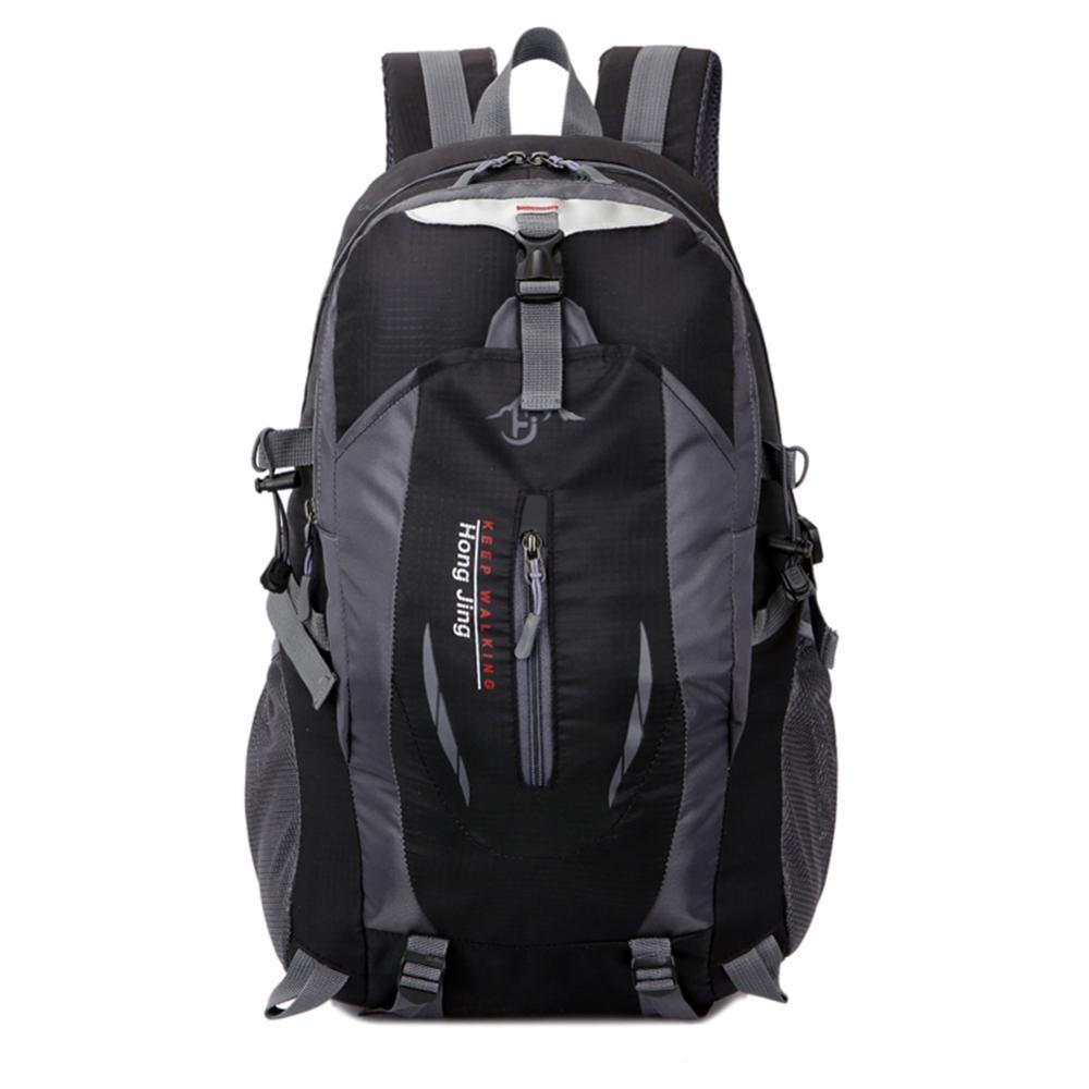 Mochila impermeable para hombre y mujer, bolsa de acampada para exteriores, senderismo, viaje atlético, Bolsas de deporte de escalada Unisex