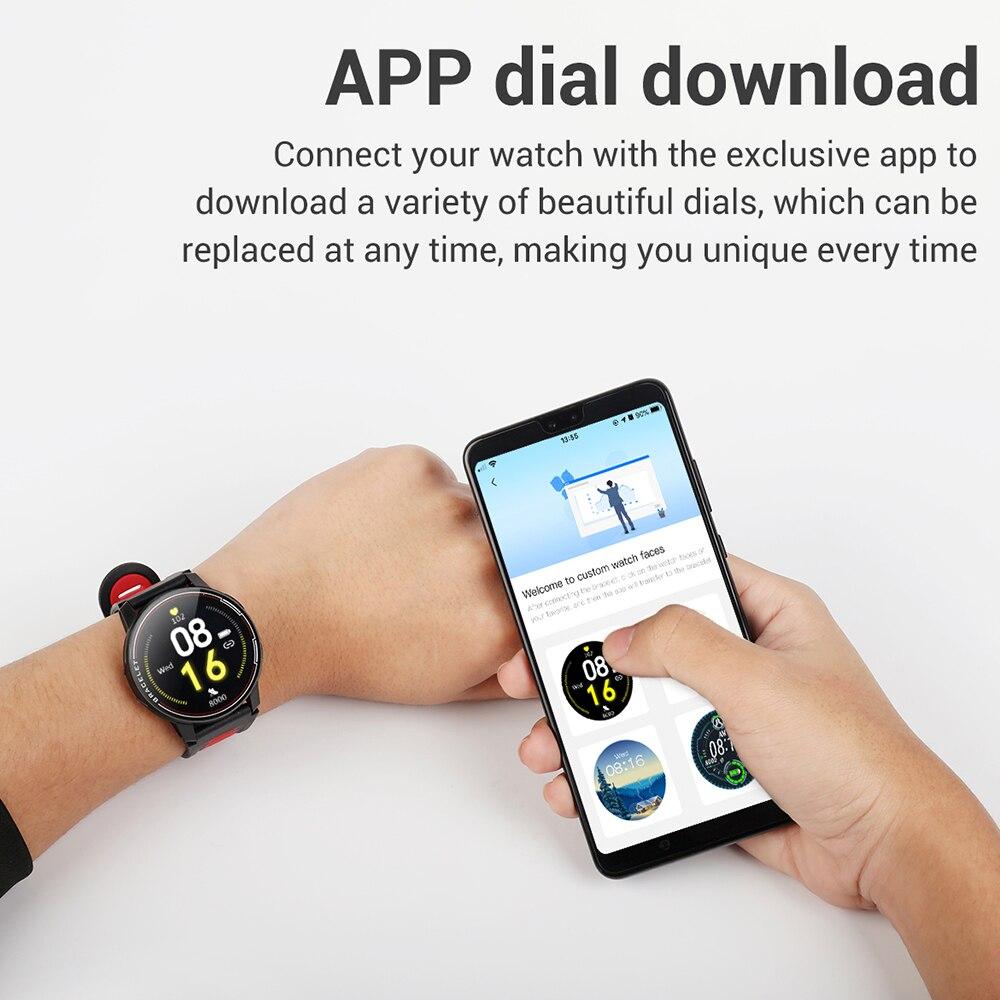 2020 New L6 Smart Watch IP68 Waterproof Sport Men Women Bluetooth Smartwatch Fitness Tracker Heart Rate 2020 New L6 Smart Watch IP68 Waterproof Sport Men Women Bluetooth Smartwatch Fitness Tracker Heart Rate Monitor For Android IOS