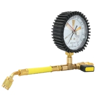 New Air Conditioning Refrigeration Test Nitrogen Pressure Gauge Simple Refrigerant Table for R134A, R22, R410A