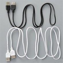 Черный USB 2,0 A для мужчин и женщин удлинитель высокоскоростной USB удлинитель Кабель для зарядки и передачи данных Шнур 1,5 м