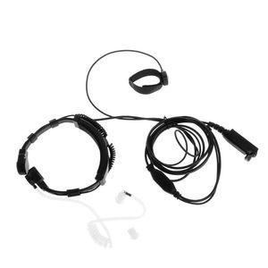 Image 5 - Finger PTT Throat MIC Acoustic Tube Earpiece Headset For SEPURA Radio STP8000/8030/8040/8080