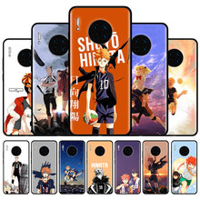 Silicone Case Cover For Huawei Mate 10 20 30 Lite 20 Pro Y5 Y6 Y6s Y7 Y7p Y9s Y9 2019 Fundas Capa Haikyuu Hinata attacks Anime