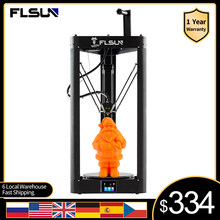 FLSUN 3D Printer QQ-S-PRO High Speed Auto-Leveling Switch Large Print Size Kossel Delta Touch Screen WIFI Module 32-Bit Board