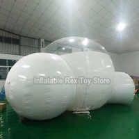 2019 Neue Aufblasbare Blase Haus Für Outdoor Camping 3 M/4 M/5 M Durchmesser Aufblasbare Blase Hotel schöne PVC Blase Kuppel Zelt Günstige