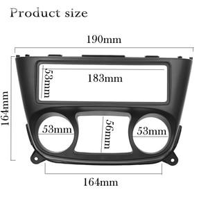Image 2 - 1 Din Car Radio Fascia for Nissan Almera N16 2000 2006 one 1 din Frame DVD Stereo Panel Trim Kit Surround Dashboard Frame