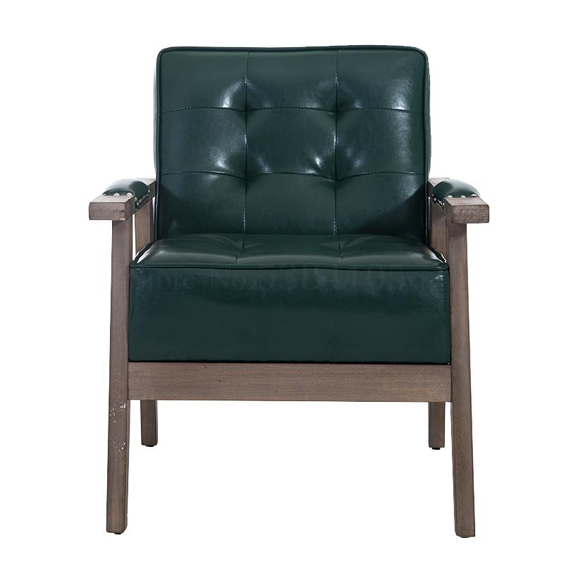 Simple Office Sofa Coffee Table Simple Business Reception Room Small Parlor Area Casual Leather Sofa Chair Aliexpress