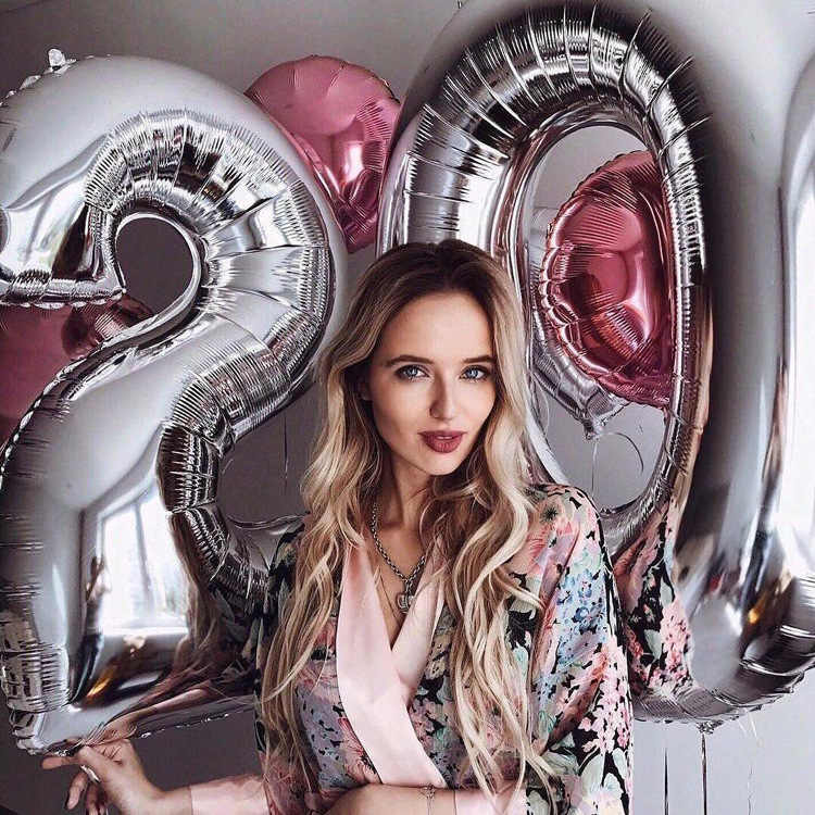 40 дюймов большой воздушный шар на день рождения розовые золотые воздушные шары фольги номер воздушный шар Birhhday Свадебная вечеринка Decorationg Globo Детские принадлежности для мячей