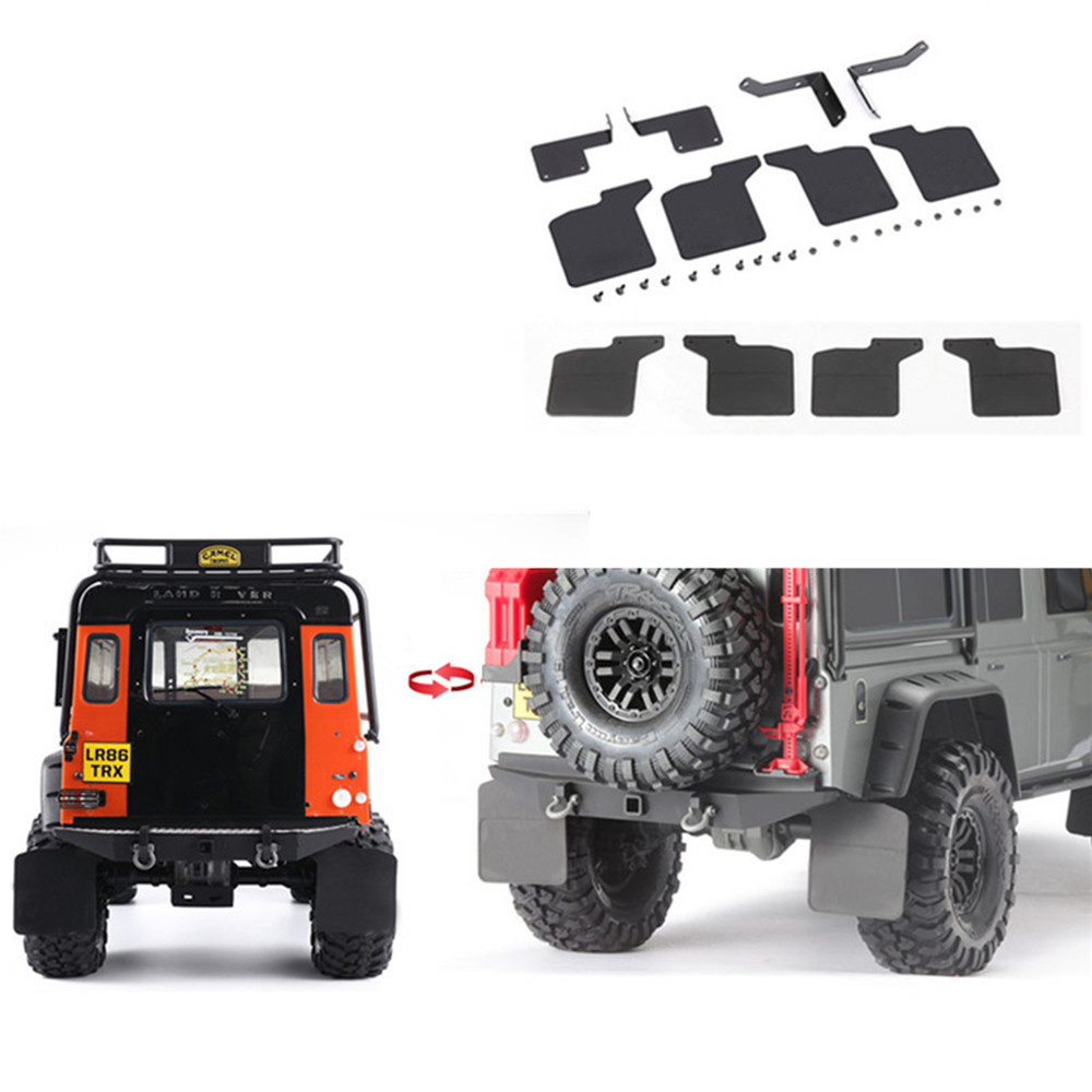Pickups Ford Metal Axle Diff Cover for Traxxas TRX4 Land Rover Defender