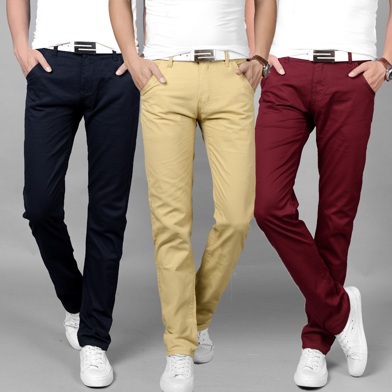 Men Casual Pants Big Size Busines