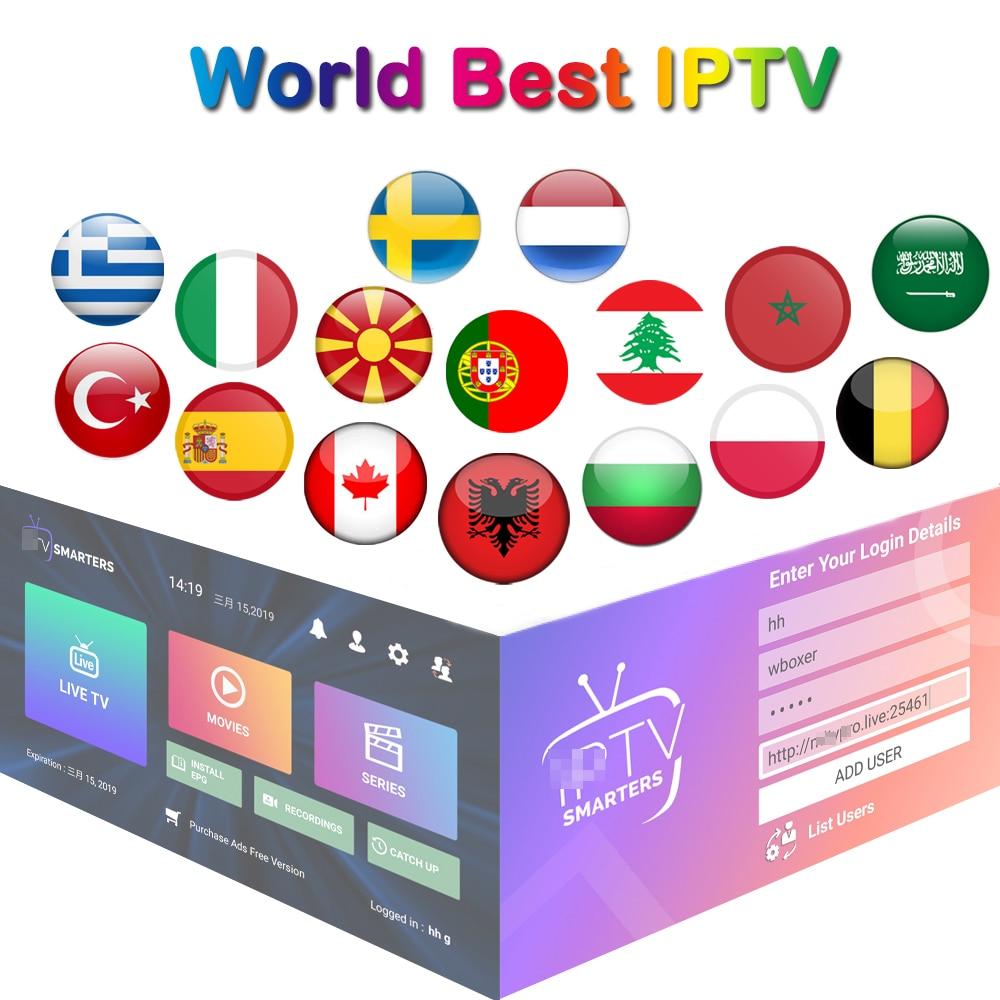 World Stable IPTV Subscription M3U 1 Month Poland Netherland Arabic Italy Sweden Germany IPTV Albania Greece IP TV Adult Xxx
