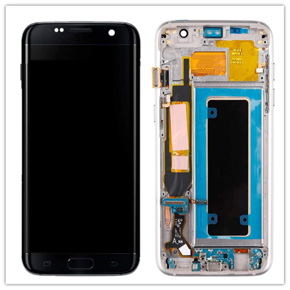 Original Amoled For Samsung Galaxy S7 Edge Defect LCD G935F G935A G935FD with small spot Display + Touch Screen Digitizer Parts image