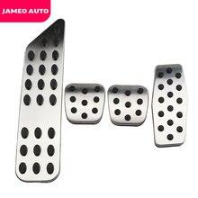 Jameo coussinets de pédales automobiles, en acier inoxydable, pour Chevrolet Cruze Trax Malibu, pour Opel Mokka 2013 2018 ASTRA J Insignia