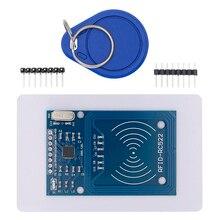 TENSTAR ROBOT RFID 모듈 RC522 키트 태그가있는 13.56 Mhz 6cm SPI 쓰기 및 읽기 arduino 용