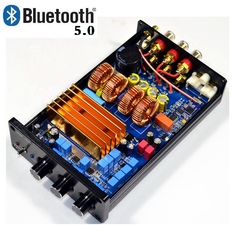 TPA3255 High Power Class D HIFI Digital <font><b>2.1</b></font> <font><b>Bluetooth</b></font> 4.2 <font><b>Bluetooth</b></font> 5.0 Amplifier 150W*2+325W AMP For Home Sound Theater image